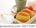 日式便當 午飯 蛋包飯 18377087