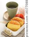 日式便當 午飯 蛋包飯 18377088