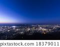 kitakyushu, sarakurayama, night scape 18379011