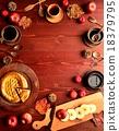 蘋果餅 咖啡杯 松球 18379795