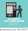 Automatic Food Machine Symbol. 18379917