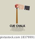 Cue Chalk Or Billiard Sports. 18379991