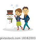 person, snowman, snowmen 18382003