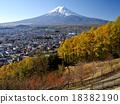 富士山 雪冠 风景 18382190