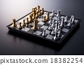 chess, indoor, board game 18382254