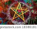 colorful lantern, marketplace, mid-autumn festival 18386181