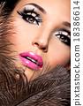 化妆 女人 女性 18386614