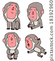 japanese, monkey, monkeys 18392960