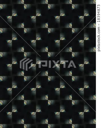 Brown Ethnic pattern. Abstract kaleidoscope 18394873
