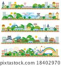townscape, vector, vectors 18402970