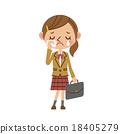 學生 令人遺憾的 哭 18405279