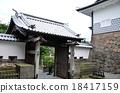kanazawa castle, gate, gated 18417159