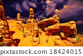 Awesome rock formation 18424015