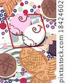 和果子 日本糖果 日式甜點 18424602