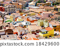 Colorful houses of Bosa town 18429600