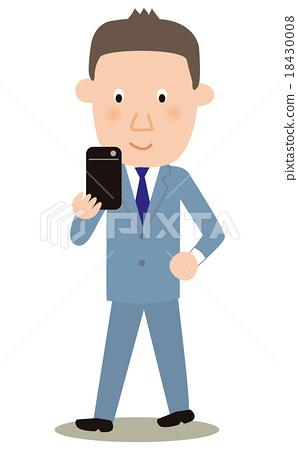 Walking smartphone 18430008