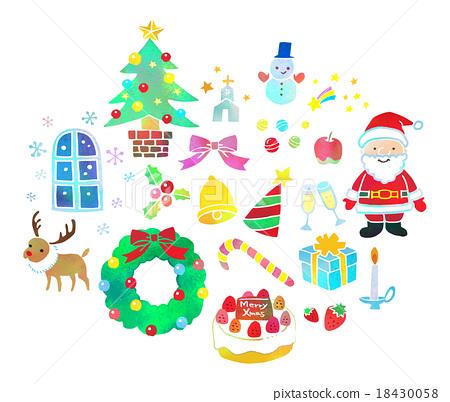 聖誕節例證 18430058