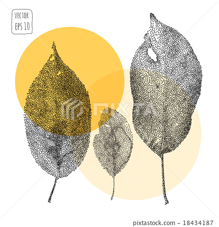 Leaves. Pattern with leaf 18434187