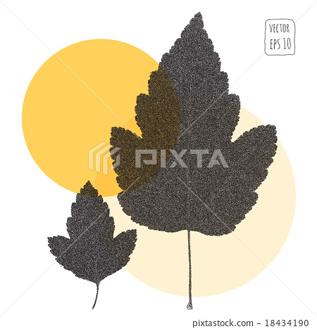 Leaves. Pattern with leaf 18434190