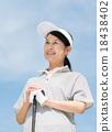 高爾夫 女性 女 18438402