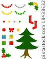 矢量 树 树木 18438532