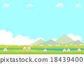 봄 풍경 벚꽃 18439400