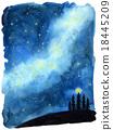 밤하늘 18445209