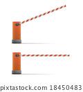 Car barriers 18450483