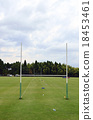 Rugby practice range of natural grass 18453461