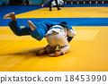 Boys compete in Judo. 18453990