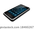 Smartphone with apps icons interface 18460267