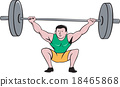 weightlifting, bodybuilder, man 18465868