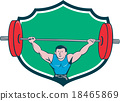 weightlifting, bodybuilder, athlete 18465869