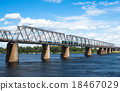 bridge, railroad, train 18467029