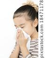 girl, nasal inflammation, blow 18471178