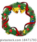 christmas wreath, christmas, noel 18471793
