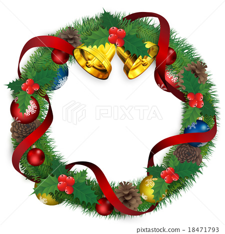 聖誕花環 聖誕時節 聖誕節 18471793