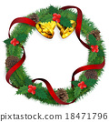 christmas wreath, christmas, noel 18471796