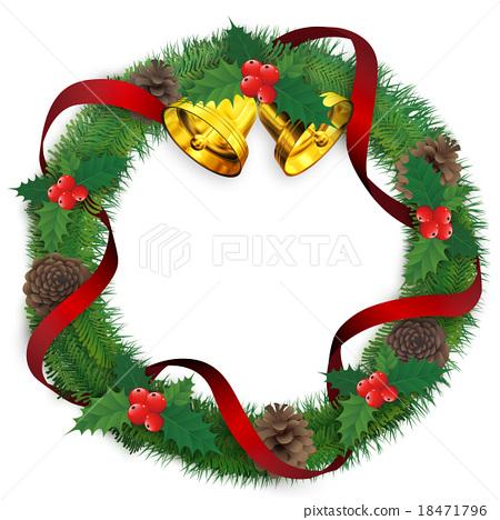 聖誕花環 聖誕時節 聖誕節 18471796
