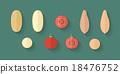 A set of Vegetables - Potato, Tomato and Batata 18476752