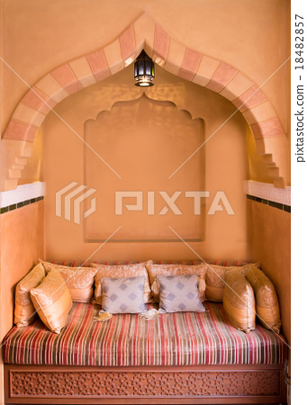 Moroccan Living-room Interior Design 18482857