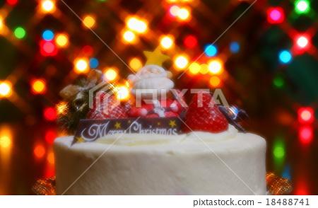 Christmas cake 18488741