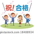 通過 愉快 幸福 18488934