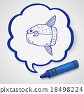 Sunfish doodle 18498224