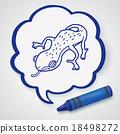 Doodle Lizard 18498272