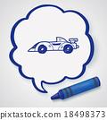 racing doodle 18498373