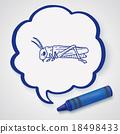 grasshopper doodle 18498433