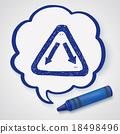 Fork sign doodle 18498496