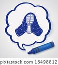 kendo doodle 18498812