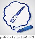 Doodle Brush 18498826